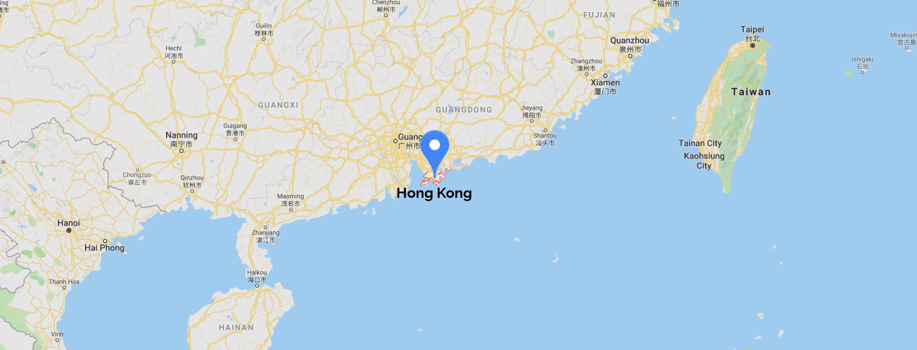 hongkong map