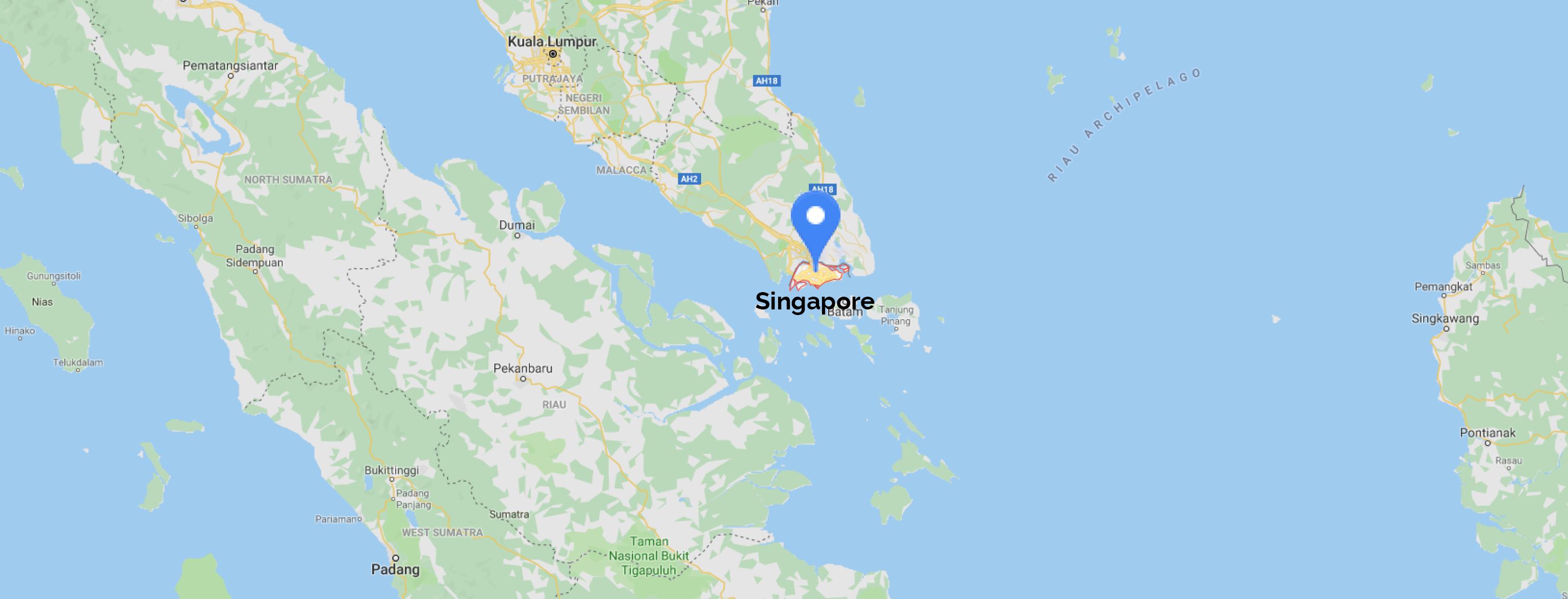 singapore map